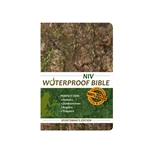 NIV Waterproof Bible Camouflage