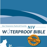 NIV Waterproof Bible New Test. Psalms & Prov. Blue Wave