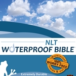 NLT Waterproof Bible Blue Wave