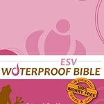 ESV Waterproof Bible Pink Brown