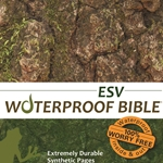 ESV Waterproof Bible Camouflage