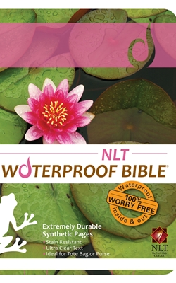 NLT Waterproof Bible Lily Pad