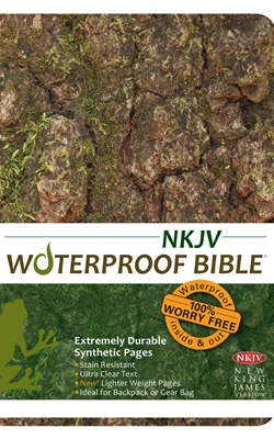 NKJV Waterproof Bible Camouflage