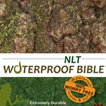 NLT Waterproof Bible Camouflage